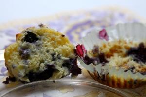 Patriotic Muffin Insides