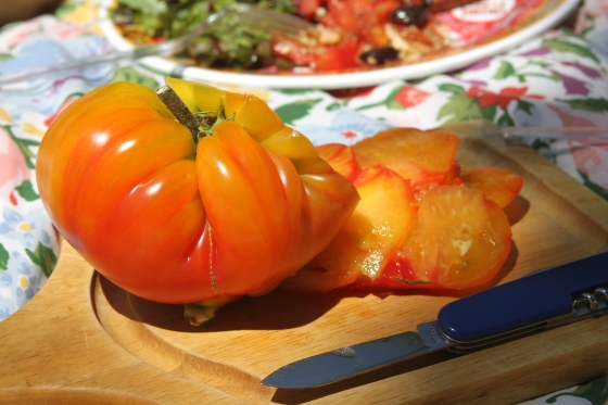 Heirloom Tomato Insides