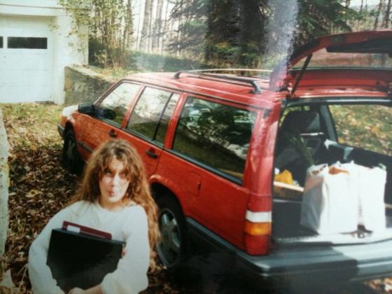 Felix Lulu and Me, circa 1996