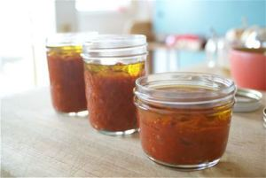 Tomato Paste - pic borrowed from http://localfoods.about.com/od/condiments/ss/tomatopaste.htm