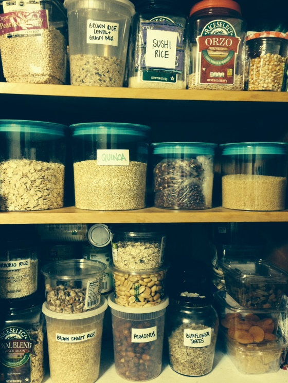 Our Bulk Cabinet!