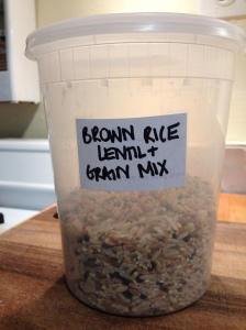 Brown Rice, Lentil & Grain Mix