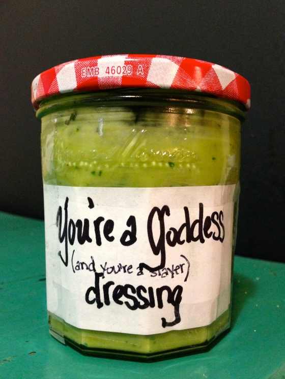You're a Goddess Dressing