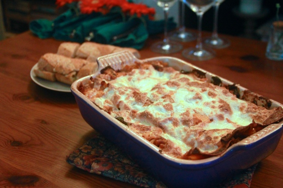Veggie Lasagna With Share Greens